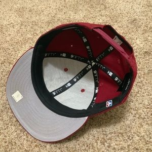 New Era Accessories - Oklahoma City Thunder NBA SnapBack Hat Burgundy